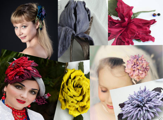 leather flower workshop galelina millinery
