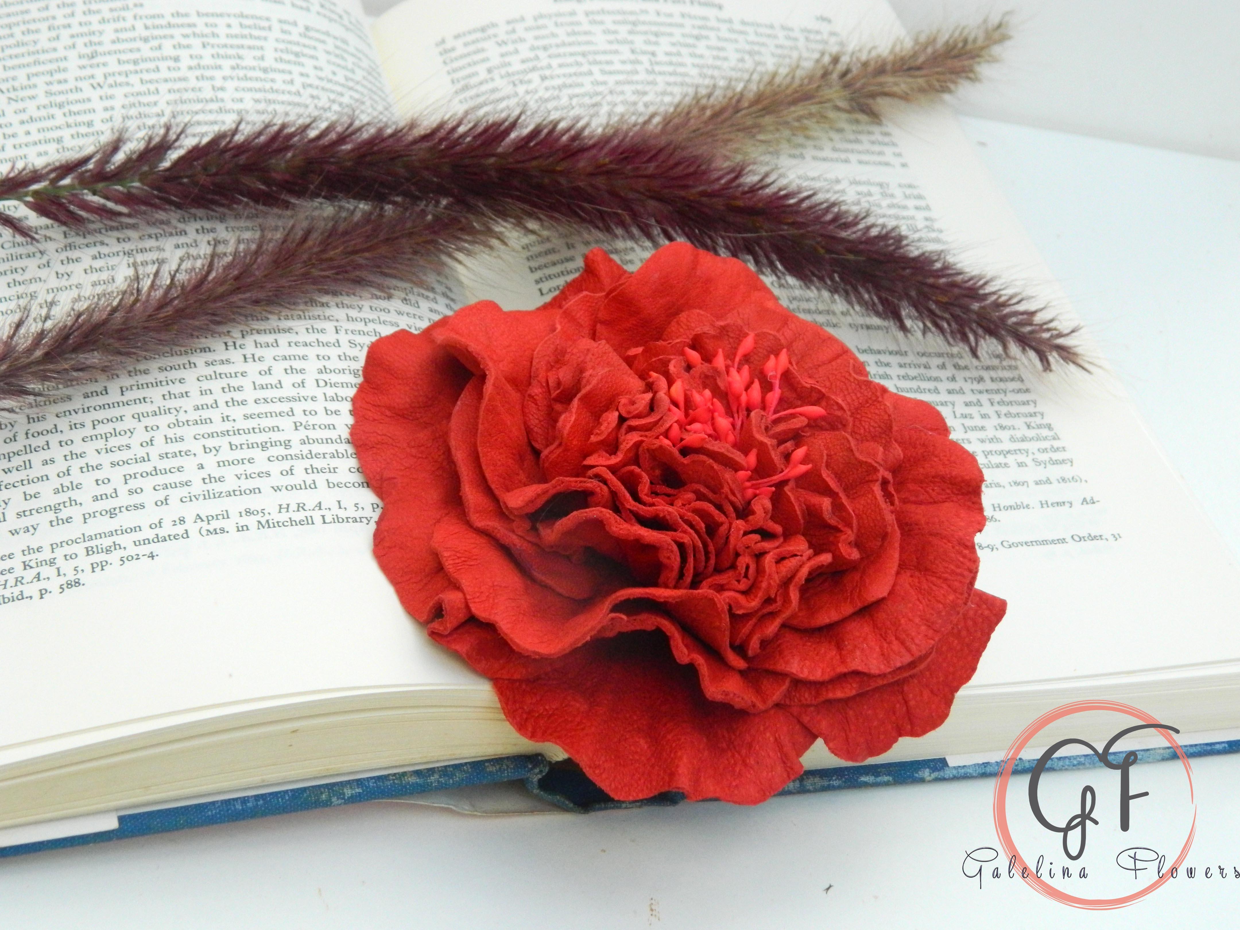 Leather Roses | Galelina Flowers